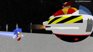 MMD Sonic - Sonic VS Robotnik Test +VIDEO+ by MMDCharizard