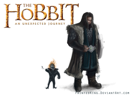 Speed Paint04: Thorin Oakenshield by PaintedKing