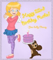 Happy Birthday Ruthie 2009 by chesney