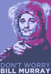 Don't Worry: Bill Murray by queenmari
