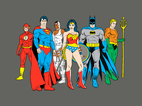Justice League by G-Eddy