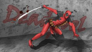 Deadpool by Kiesy
