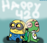 Happy 420 by Michivous12