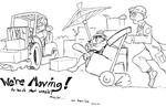 Moving, experiencing technical difficulties by WafflesToo