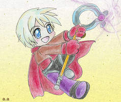 Little Mage? by Fiatan