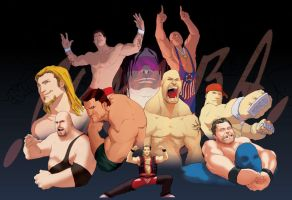 WWE - colour w.i.p by theCHAMBA
