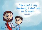 Psalm 23:1 by Israel42
