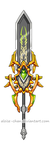 OC Arion Weapon by Aloise-chan