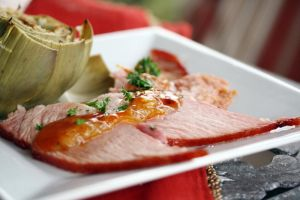 Peach and Orange Baked Ham 6 by laurenjacob