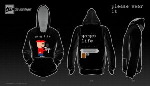 my frist hoddie by omaril22