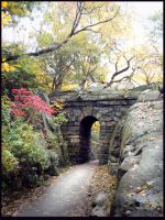 Old Stone Archway by nemesisenforcer