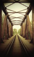 Railroad bridge by phonzik
