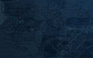 Subway Map Wallpaper by Envirotechture