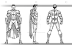 Bonus Gray print Model Sheet by CapitalComicsStudios