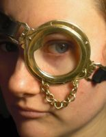 Steampunk Monocle by fairyfrog