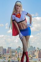 Bruce Timm Supergirl by RuffleButtCosplay