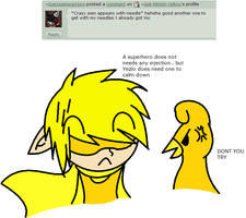 Qeustion 11 - I dont need one by Ask-Minish-Yellow