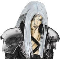 Sephiroth Colour by markeverard