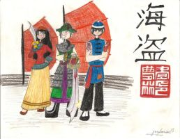 Pirates of the Qing Dynasty by cjbolan