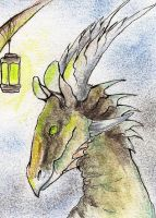 ACEO Ikark by Drrrakonis