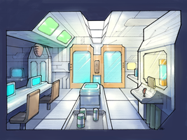 The Black Wing Research Lab by GleamingScythe