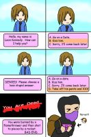 Leon Kennedy dating game _RE4_ by Verlerious