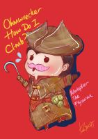 Chibi Markiplier Plays AC4 by tickle90cat