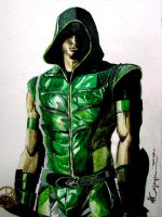 Smallville Green Arrow by ncajayon