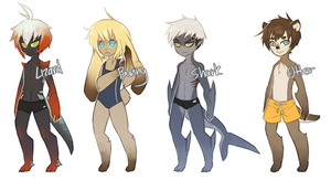 Swimming Adopts [closed] by professorsugoi