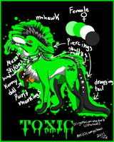 New Toxic Ref by camychan