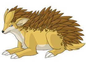 ...pogheys... Sandslash by Rainbow-Cemetery