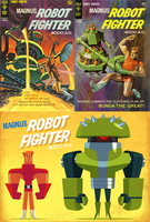 Magnus Robot Fighter -Redesigns by mhannecke