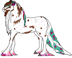 Pavo Equine for Seri-Goyle by Justalittlelost