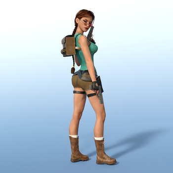 Classic Raider 64 by tombraider4ever