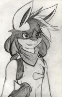 Ander The Lucario by Zander-The-Artist