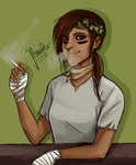 cigarette smoke by snuggly97