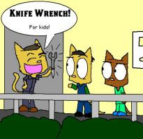 Scrubs- Knife Wrench by Catmaniac8x