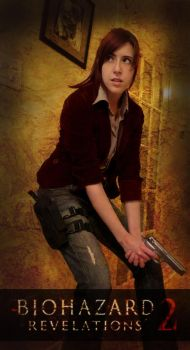 Claire Redfield - Revelations 2 (costest) by Sheenah
