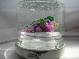 Sleeping Spike Snowglobe by Akki14