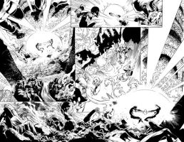 Green Lantern 42 Pages 18+19 by julioferreira