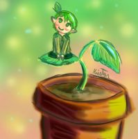 Little Dryad by Friendlyfoxpal