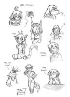 TwoKinds Doodles Part 4/4 by jim-shadow