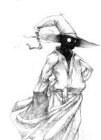 Ronin Blackmage sketch by Taimat