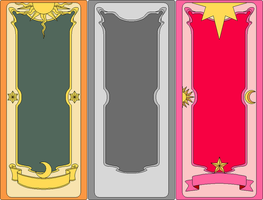 Clow Card Templates by clampfan101