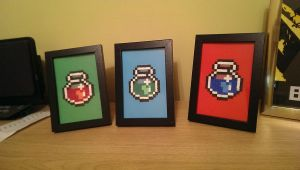 zelda jars fuse beads by swiftflik