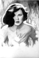 Hedy Lamarr by Pidimoro