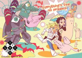 Everythings fine no problem by superspacemonkey