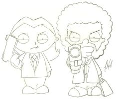 Stewie-Rallo In Pulp Fiction by J-Dot-Will