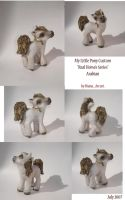 My little Pony Custom- ARABIAN by BlackAngel-Diana