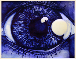 Ballpoint Eye by SquidBuckets